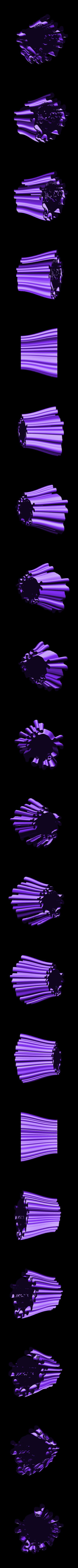 penholder-3.stl Download free STL file Wavy Penholders Collection (15 files) • 3D print design, ferjerez3d
