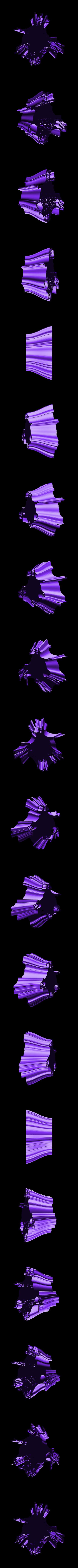 penholder-5.stl Download free STL file Wavy Penholders Collection (15 files) • 3D print design, ferjerez3d
