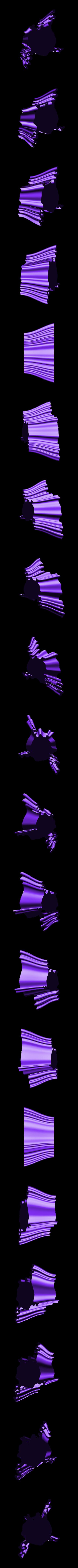 penholder-8.stl Download free STL file Wavy Penholders Collection (15 files) • 3D print design, ferjerez3d