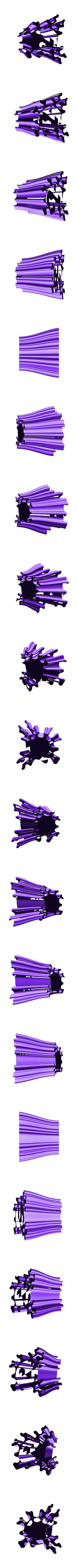 penholder-14.stl Download free STL file Wavy Penholders Collection (15 files) • 3D print design, ferjerez3d
