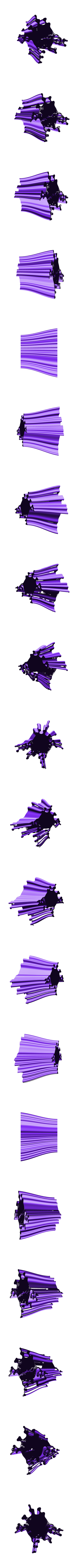 penholder-10.stl Download free STL file Wavy Penholders Collection (15 files) • 3D print design, ferjerez3d