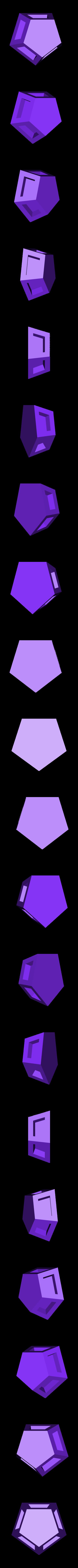 pentagon.stl Download free STL file Soccer ball (Truncated icosahedron) assembly • 3D printer object, mattias_selin