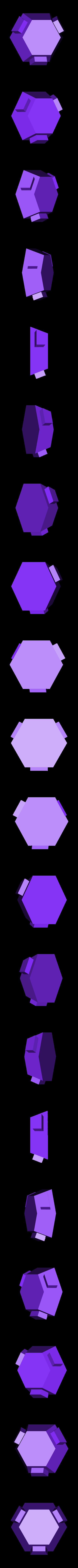 hexagon.stl Download free STL file Soccer ball (Truncated icosahedron) assembly • 3D printer object, mattias_selin