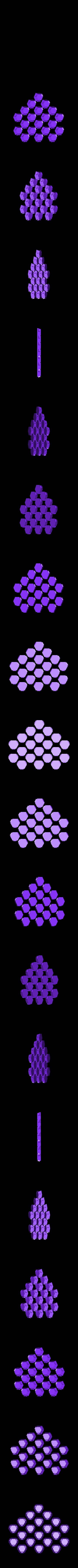 truncated_icosahedron_20_hexagons.stl Download free STL file Soccer ball (Truncated icosahedron) assembly • 3D printer object, mattias_selin