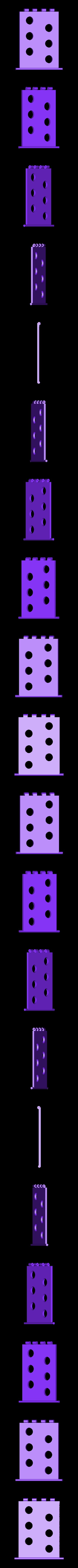 CritterRamp.stl Download free STL file Critter Rescue Ramp Modified For Smaller Printer • 3D printer object, MeesterEduard
