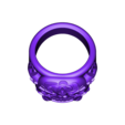 Luckyring.stl Download STL file Lucky Ring from expendables movie 3D print model • 3D printing template, MLBdesign