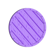 VikingShield.stl Download free STL file Viking Shield Coaster • 3D printing model, SenseiRalph
