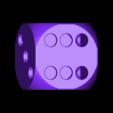 diceV2.stl Download free STL file Dice Pencil Holder • 3D printer design, Churuata3D