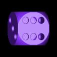 dice.stl Download free STL file Dice Pencil Holder • 3D printer design, Churuata3D