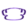 hat1.stl Download STL file Hats cookie cutter set • 3D print design, davidruizo