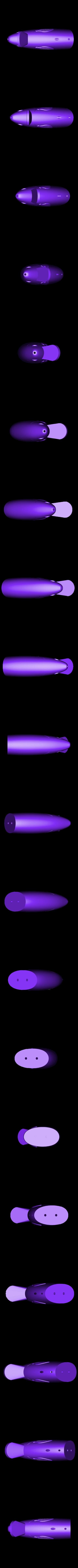 Head_Swimbait_Line_thru.stl Download free STL file Swimbait/Glidebait Line Thru Heads • 3D printing template, Domi1988