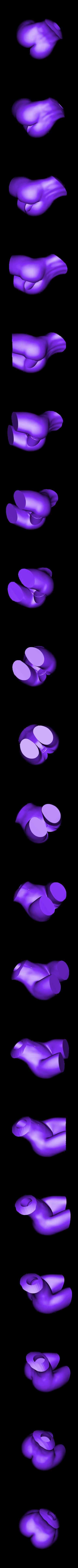 sdoll_02n_body.stl Download STL file Stroker Holder v1 (3D-Printable Sexercise Doll) • 3D printing design, SixLifeSeven