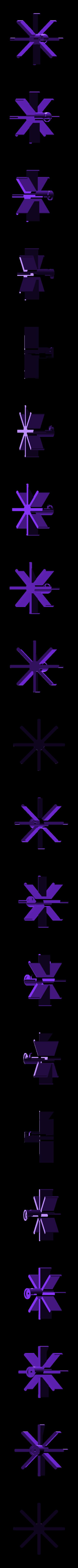 crickit-prop.stl Download free STL file Crickit Paddle Wheel Boat • 3D printer design, Adafruit