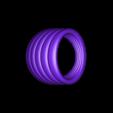 scallop cock ring.STL Download STL file Scallop Cock Ring • 3D printer design, Deezine