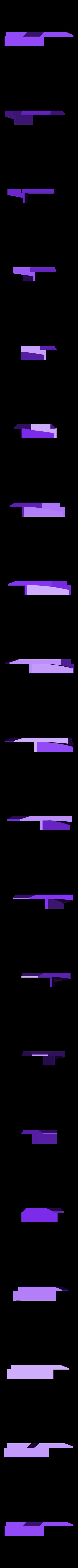 green side left.stl Télécharger fichier STL gratuit 1991 Mazda 787B 3d Voiture RC imprimée de 1991 • Objet à imprimer en 3D, brett