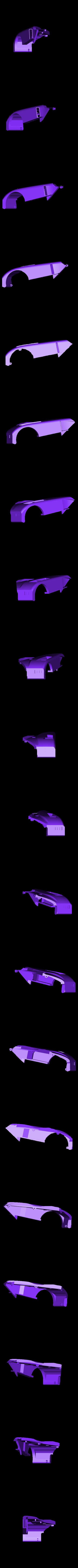 rear fender right.stl Télécharger fichier STL gratuit 1991 Mazda 787B 3d Voiture RC imprimée de 1991 • Objet à imprimer en 3D, brett