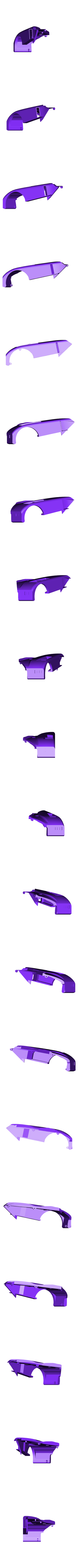 rear fender right.stl Download free STL file 1991 Mazda 787B 3d Printed RC Car • 3D printable template, brett