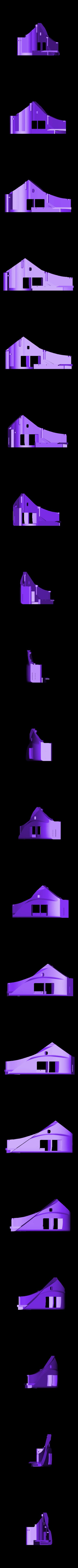 rear fender left.stl Télécharger fichier STL gratuit 1991 Mazda 787B 3d Voiture RC imprimée de 1991 • Objet à imprimer en 3D, brett