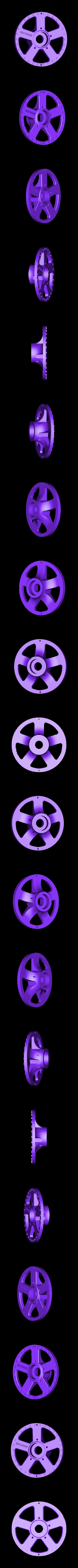 rim face (front).stl Télécharger fichier STL gratuit 1991 Mazda 787B 3d Voiture RC imprimée de 1991 • Objet à imprimer en 3D, brett