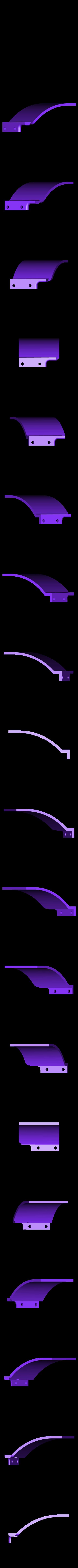 right vent.stl Download free STL file Aryton Senna's Mclaren MP4/6 3d Printed RC F1 Car • 3D printing design, brett