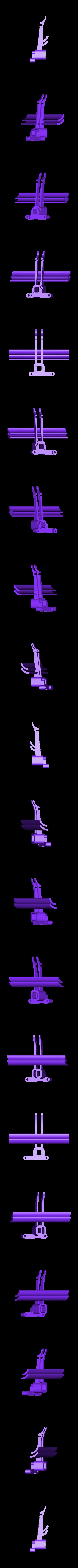 rear wing black.stl Download free STL file Aryton Senna's Mclaren MP4/6 3d Printed RC F1 Car • 3D printing design, brett