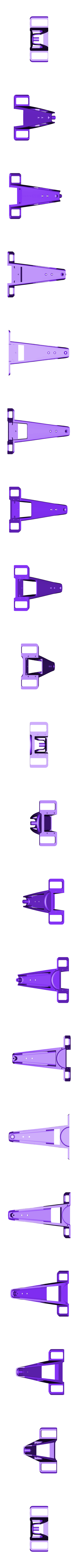 black nose front.stl Download free STL file Aryton Senna's Mclaren MP4/6 3d Printed RC F1 Car • 3D printing design, brett
