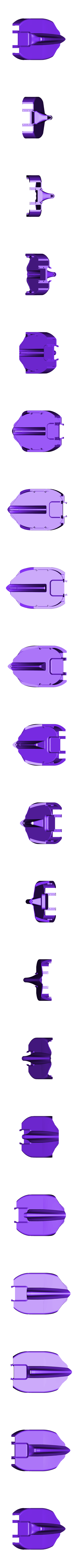 white center.stl Download free STL file Aryton Senna's Mclaren MP4/6 3d Printed RC F1 Car • 3D printing design, brett