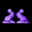 Split_Right_Leg.stl Download free STL file Modular Mech SteamPunk • Design to 3D print, mrhers2