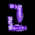 Split_Right_Arm.stl Download free STL file Modular Mech SteamPunk • Design to 3D print, mrhers2
