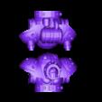 Split_Torso.stl Download free STL file Modular Mech SteamPunk • Design to 3D print, mrhers2