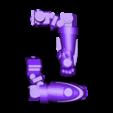 Split_Left_Arm.stl Download free STL file Modular Mech SteamPunk • Design to 3D print, mrhers2