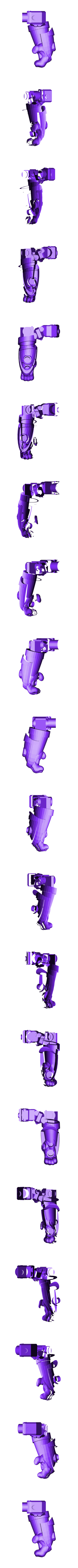 Steam_Right_Arm.stl Download free STL file Modular Mech SteamPunk • Design to 3D print, mrhers2