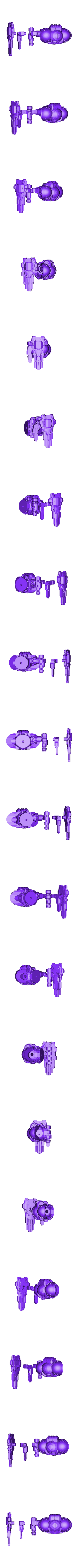 Arm_Extension_Example.stl Download free STL file Modular Mech Helbrute Expansion • 3D printing object, mrhers2
