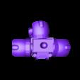 Helbrute_3_Legged_Groin.stl Download free STL file Modular Mech Helbrute Expansion • 3D printing object, mrhers2