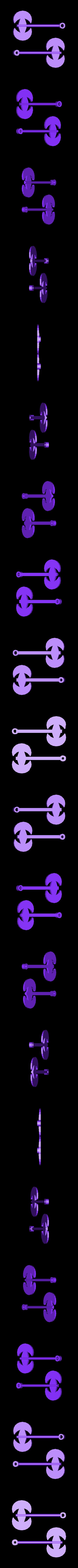TortureTrap_Split_Swinging_Axe.stl Télécharger fichier STL gratuit TortureTrap : une extension du piège à souris • Objet pour impression 3D, mrhers2