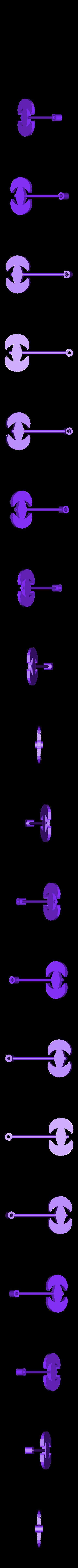 TortureTrap_Swinging_Axe.stl Télécharger fichier STL gratuit TortureTrap : une extension du piège à souris • Objet pour impression 3D, mrhers2