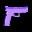 XDM_Left.stl Download free STL file Springfield XDM 2.0 • Model to 3D print, mrhers2