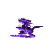 Ratzerker_no_Base.stl Télécharger fichier STL gratuit Rat'zerker the Berserker Rat • Objet imprimable en 3D, mrhers2