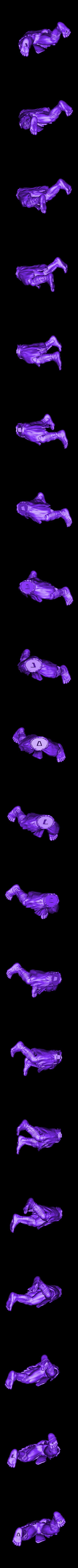 necalli_080730_legs.stl Download free STL file Stronghero Necalli street fighter • 3D printing design, stronghero3d