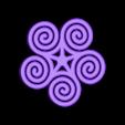 Spiral_earing_pendant.STL Télécharger fichier STL gratuit Boucle d'oreille spirale Pendentif • Objet imprimable en 3D, FelicityAnne