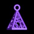 Pyramid_Earring.STL Télécharger fichier STL gratuit Boucles d'oreilles en Pyramide / Pendentif • Modèle pour imprimante 3D, FelicityAnne