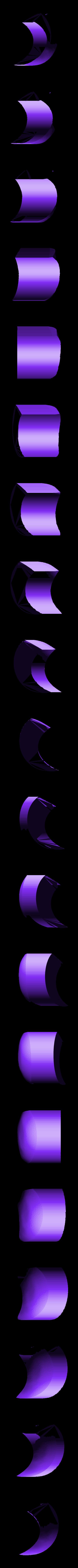 eye_white_left.stl Download free STL file Monster Tweety - multi-color • 3D print template, bpitanga