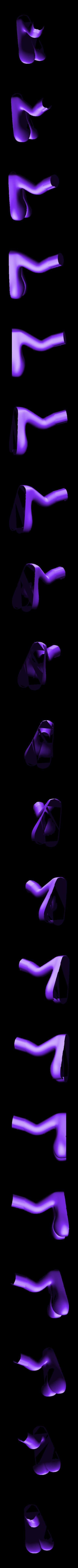leg_left.stl Download free STL file Monster Tweety - multi-color • 3D print template, bpitanga