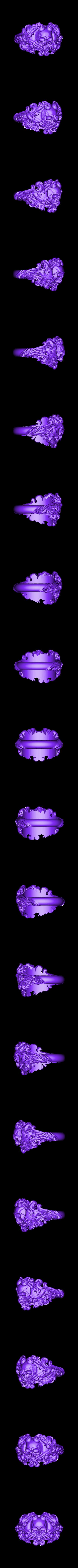 Inner diametr 19mm weight 13.2gr.stl Download OBJ file Vintage Ring • 3D print template, Roman_Kharikov
