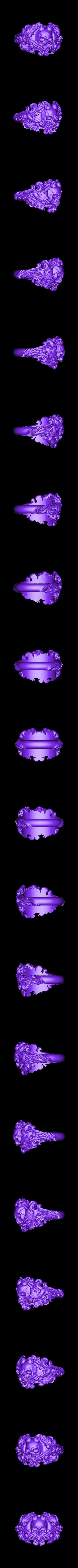 Inner diametr 18mm weight 12gr.stl Download OBJ file Vintage Ring • 3D print template, Roman_Kharikov