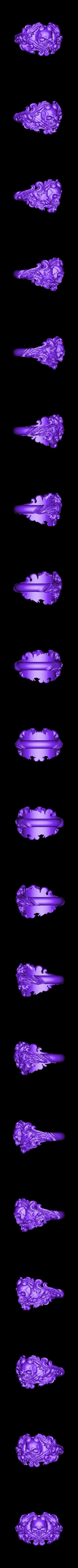 Inner diametr 18mm weight 12gr.obj Download OBJ file Vintage Ring • 3D print template, Roman_Kharikov