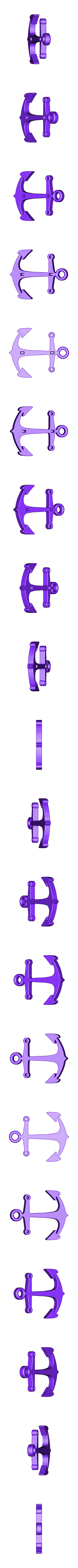 Anchor hook v5.stl Download STL file Anchor hook  • 3D print model, SirPalmBranch