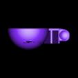 blanc jaune.STL Télécharger fichier STL gratuit oeuf cuisine • Objet à imprimer en 3D, Chris48