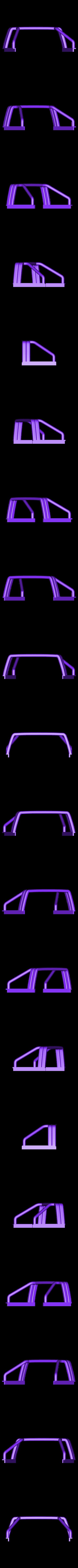 YOTA rool bar V2.stl Download STL file TOYOTA HARD BODY SHELL ROOL BAR  • 3D printer design, kiatkla