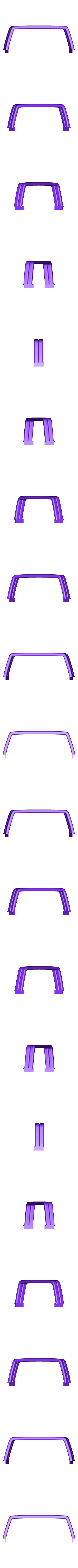 YOTA rool bar V1 thin.stl Télécharger fichier STL gratuit TOYOTA HARD ROOL BAR SCX10 RC4WD K5 TRX4 • Design pour imprimante 3D, kiatkla